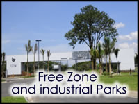 Costa Rica Free Zone and industrial Parks
